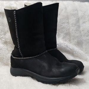 Merrell suede boot